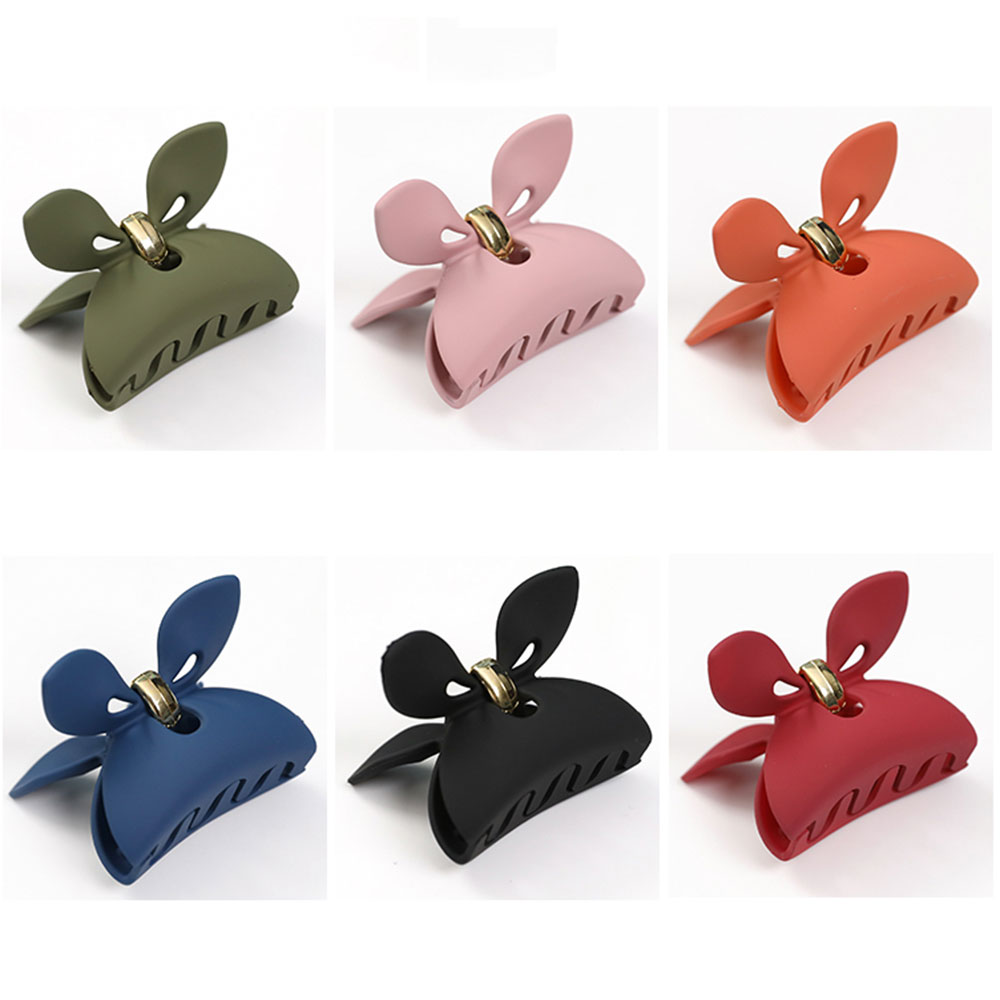 3 pair Cat Ears Cosplay Barrette Hair Pin Black White and P FP
