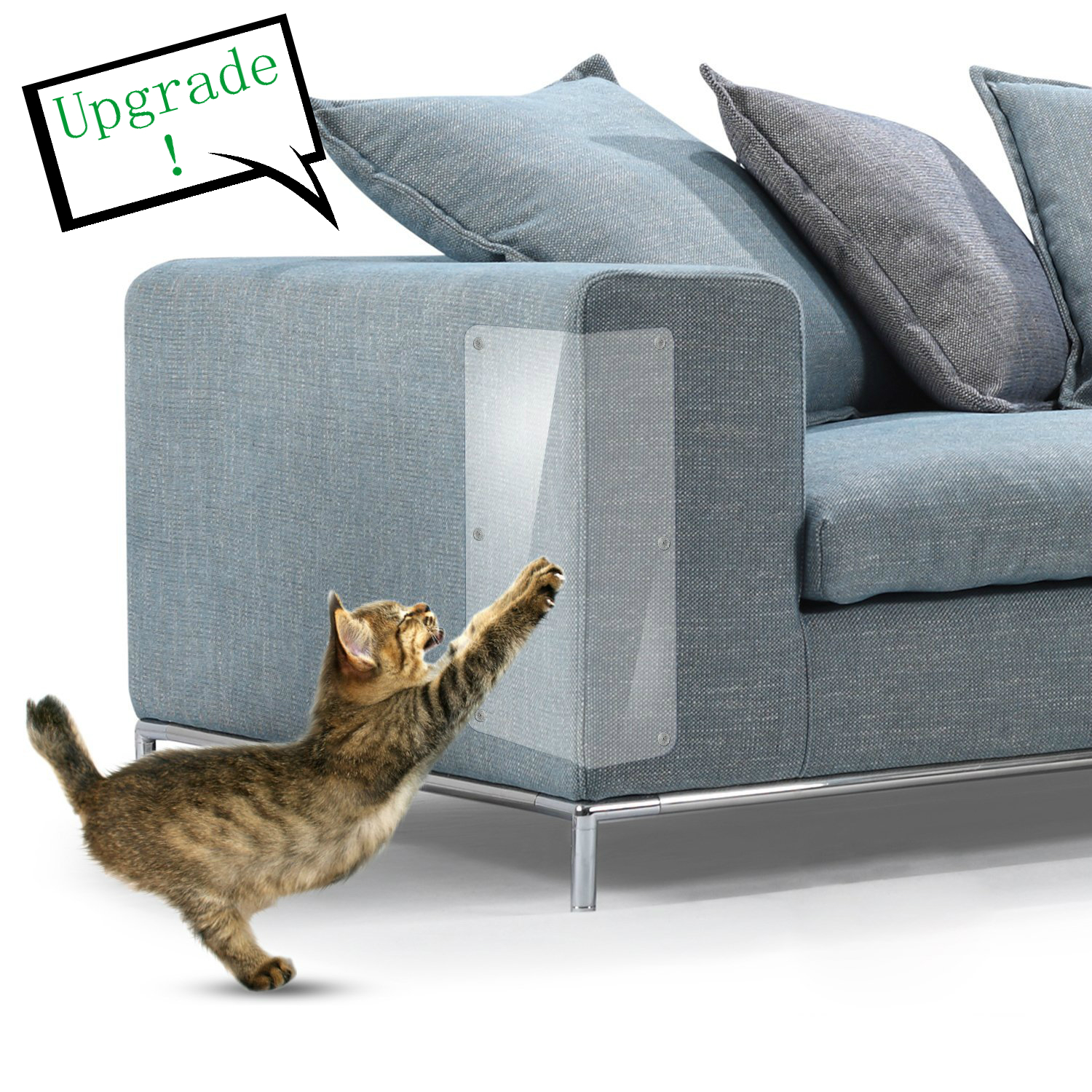 Kitten Scratching Guard Sofa Anti-grab Film Anti-scratch Sticker Set Upgrade Thicker Stronger Better Quality Cat Scratcher