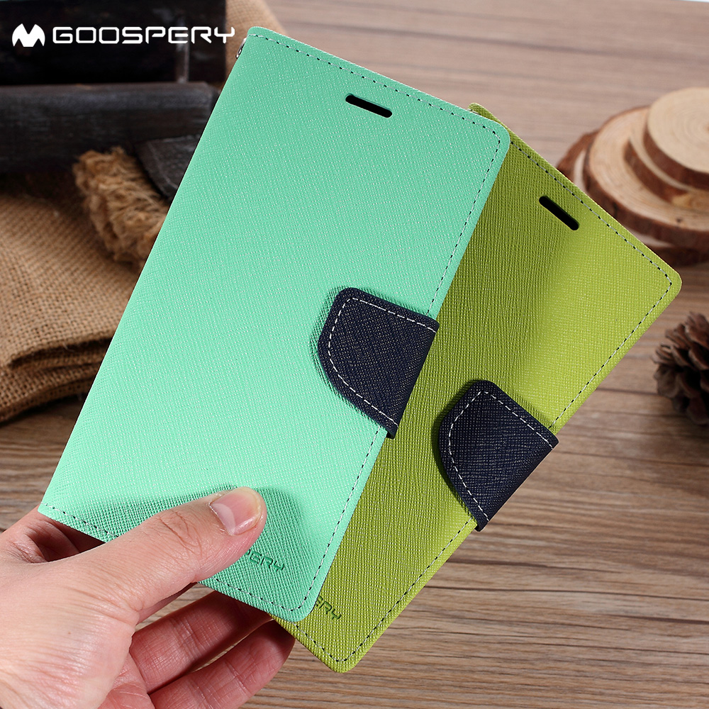 Mercury Goospery For Samsung Galaxy A8 Plus 2018 Phone Case Fancy S8 Diary Brown Black Leather Flip Cover In Cases From Cellphones