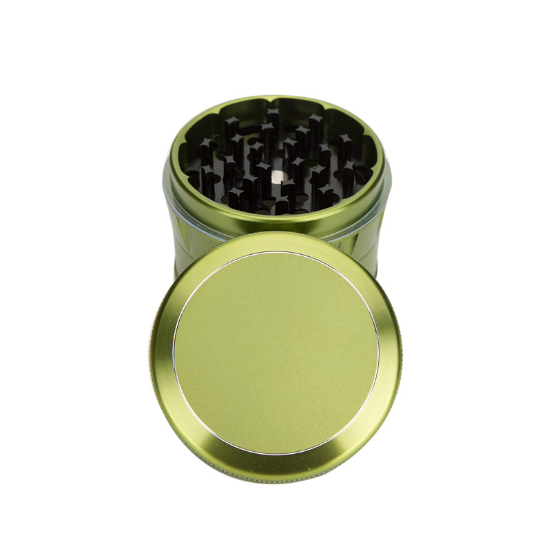 Aluminum Herb Grinder 4 Parts 63 MM Tobacco Grinder Spice Crusher Herb Crusher  Smoke Weed Pipes Shisha Drop Shipping