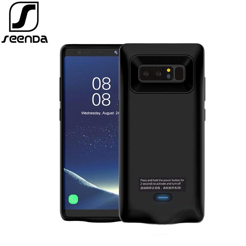 2018 für Samsung Note 8 5500 mah Batterie Ladegerät Fall Power Bank Telefon Tasche Power Ladegerät Fall Handy Fall für Samsung Note 8