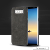 LANGSIDI brand All handmade genuine fur phone case For Samsung A7 Comfortable touch all inclusive phone case