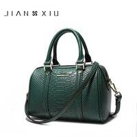 JIANXIU Phụ Nữ Thiết Kế Túi Xách Cao Chất Lượng Túi Genuine Leather Bolsos Mujer Sac một Bolsas Chính Feminina Shoulder Messenger Bag