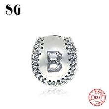 2017 New 100% 925 Sterling Silver Lovely Charms beads Fit Original Pandora Bracelets DIY Fashion Jewelry Gift for Women