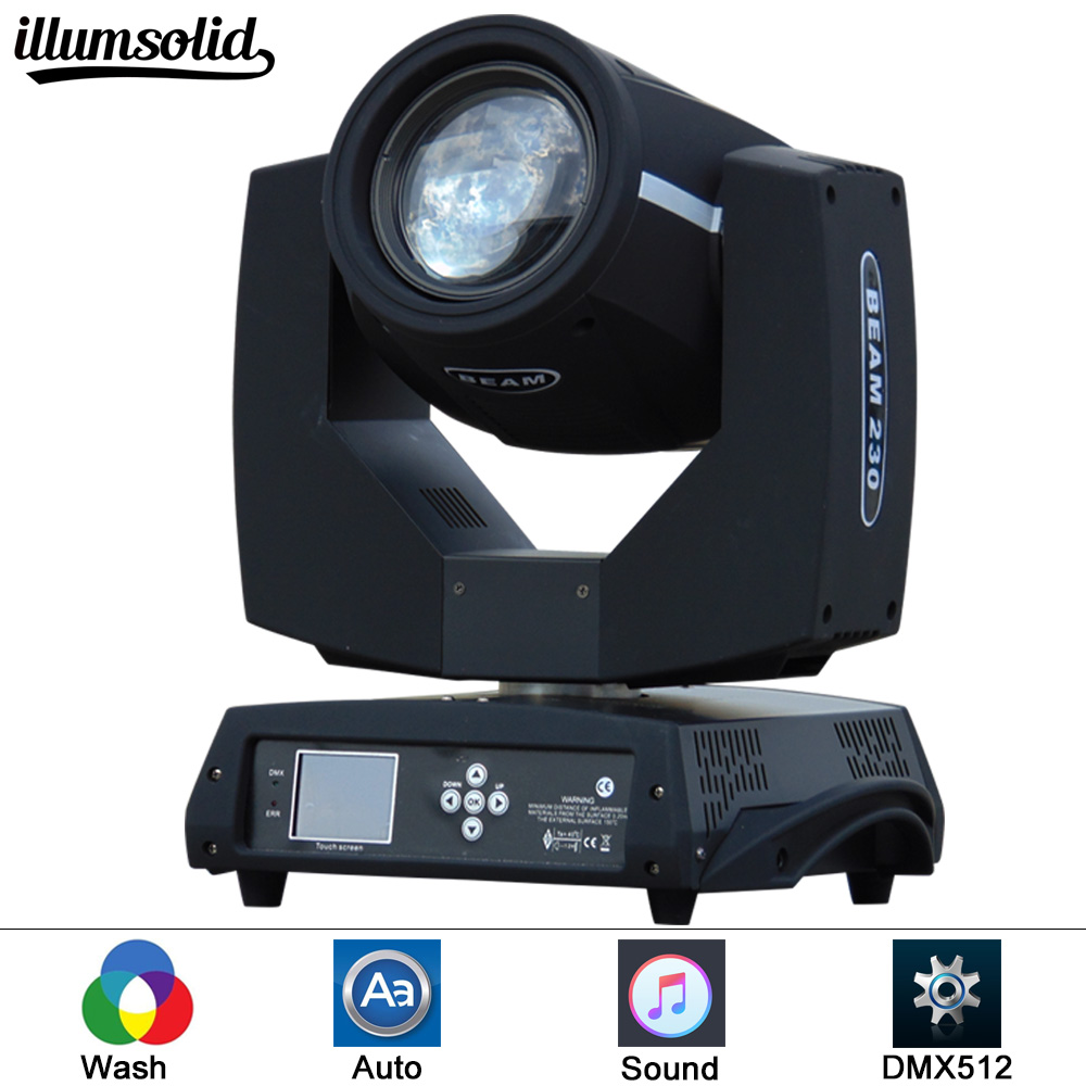 1Pcs/lot DMX 16 Channels 7R Sharpy Beam 230W Moving Head Light Black For Birthday DJ Disco KTV Bar Event Party Show 6pcs lot white color 132w sharpy osram 2r beam moving head dj lighting dmx 512 stage light for party
