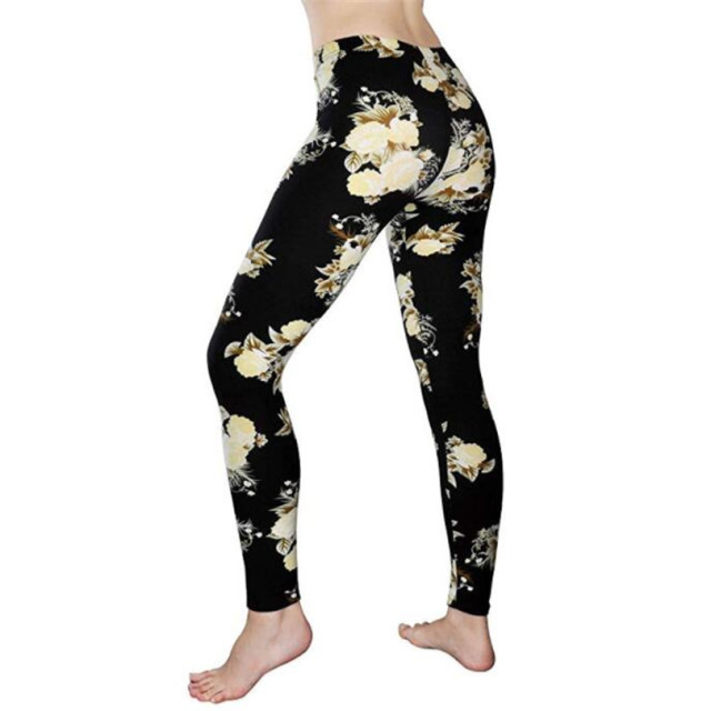Floral Patterned Print Legging 6
