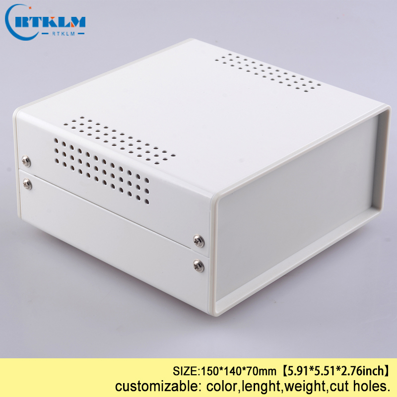 Iron Housing For Electronics Diy Instrument Case Project Case Iron Electric Junction Box 150*140*70mm BDA40004(W140)