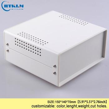 Żelazna obudowa do elektroniki obudowa przyrządu diy projekt przypadku żelaza elektryczna skrzynka przyłączeniowa 150*140*70mm BDA40004(W140)