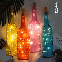 INS bottle copper lamp gift set the LED string lights all over the sky star small night light romantic room decoration