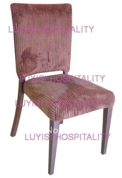Hot Sale Aluminum Restaurant Chair LUYISI2058,stackable,high Density Foam,5pcs/carton,safe Package