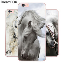 M511 Horse Painting Soft TPU Silicone Case Cover For Apple iPhone 11 Pro XR XS Max 8 X 7 6 6S Plus 5 5S SE 5C 4 4S цена и фото