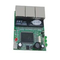 Free Shipping 3 Port Mini Ethernet Switch Board 10pcs A Lot