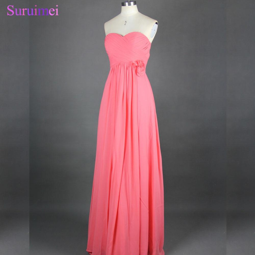 Bonito Vestidos De Dama De Coral En Venta Patrón - Colección de ...