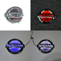 1 piece 3D Car Styling Led Logo Light Auto Badge Sticker Rear Emblem Tail Parking Lamp for NISSAN TIIDA/X-TRAIL/Geniss