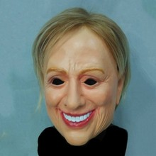 Top Popular Dress Up Latex Crossdressing Female Hilary Clinton Mask for Male