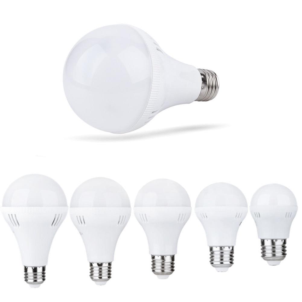 TSLEEN 1PCS LED Lamp E27 E14 Bulb Lights 220V 240V Real Power 3W 5W 7W 9W 12W Lampadas Led No Flicker Indoor Led Lighting Bulbs