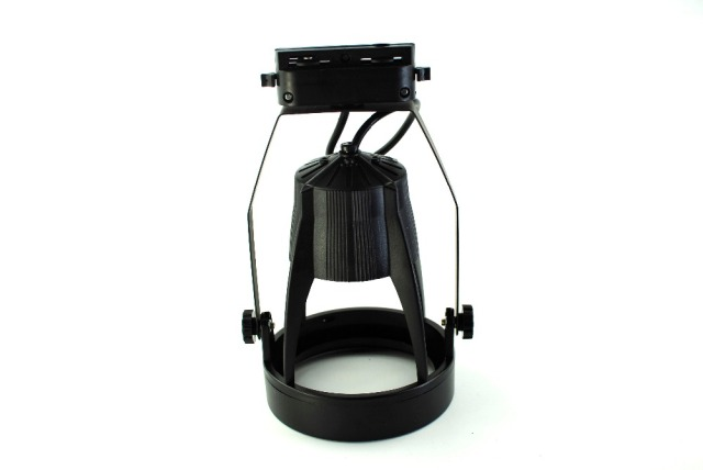 Black E27 Base Line Voltage Track Lighting Head led track Spotlight