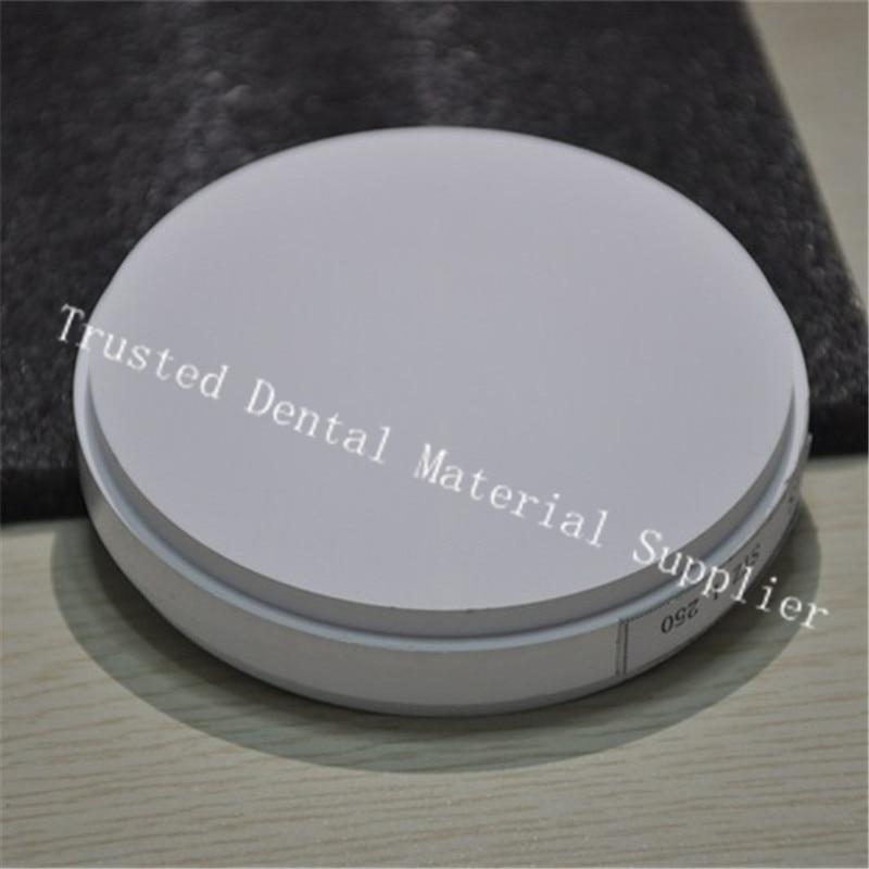 High Quality 10 Piece OD98*20MM Wieland System Dental Zirconia Ceramic Blocks For Making Denture Crowns & Bridges