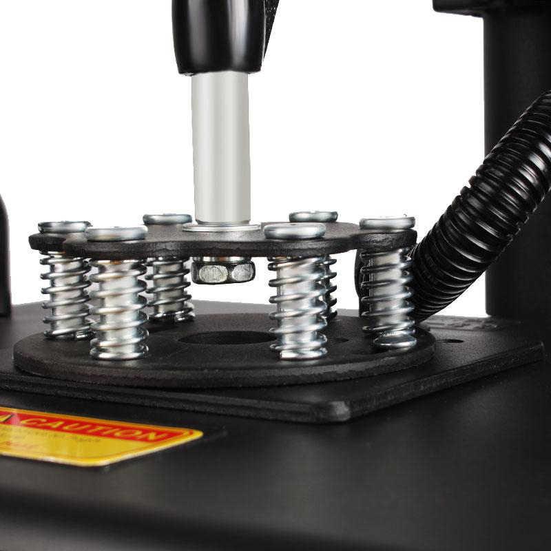 12x15 Polegadas T-shirt Da Máquina Da Imprensa do Calor Da Máquina de Impressão Digital Swing 29x38 CENTÍMETROS Impressora de Sublimação De Transferência de Calor pano DIY