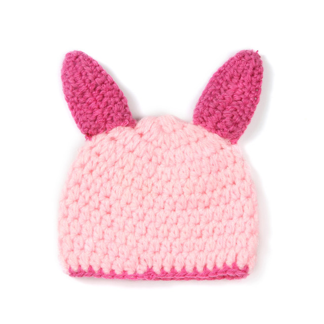 Online Shop Pink Baby Girl Piglet Beanie Hat With Cocoon Costume Set