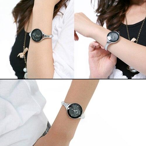 Hot Sales 2015 Trended Elegant Female Bangle Dress Watch Fashion Quartz Watches Lady Clasp Bracelet Wristwatch