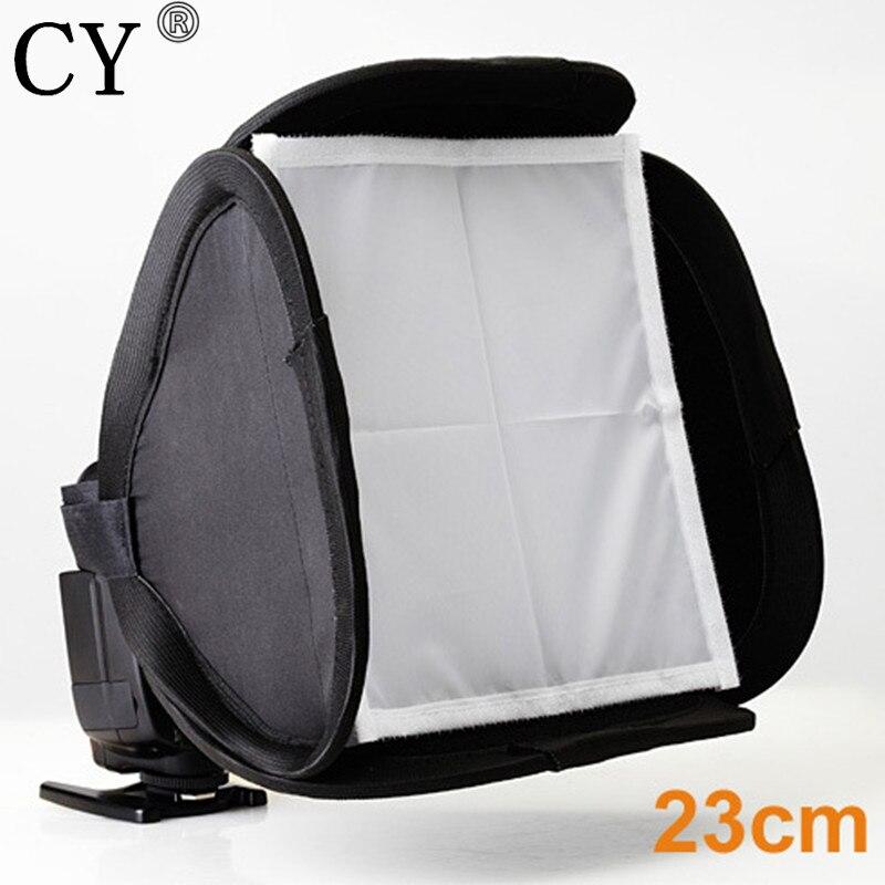 Lightupfoto Photo Video Studio Portable SoftBox 23cm For Speedlite Flash Light New Arrive High Quality PFD3