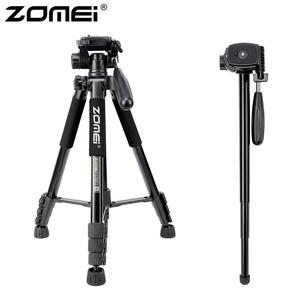 Image 1 - ZOMEI Q222 מצלמה חצובה Tripode Stative גמיש צילום חצובה חדרגל נסיעות Stand עבור Smartphone מצלמה DSLR מקרן