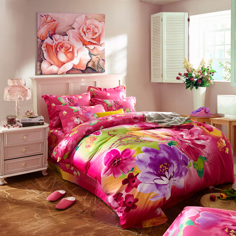 Colorful Bed Sheets