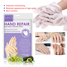 2pcs/Pair Moisturizing Soft Hand Mask Hyaluronic Dead Skin Remover Smooth Whiten