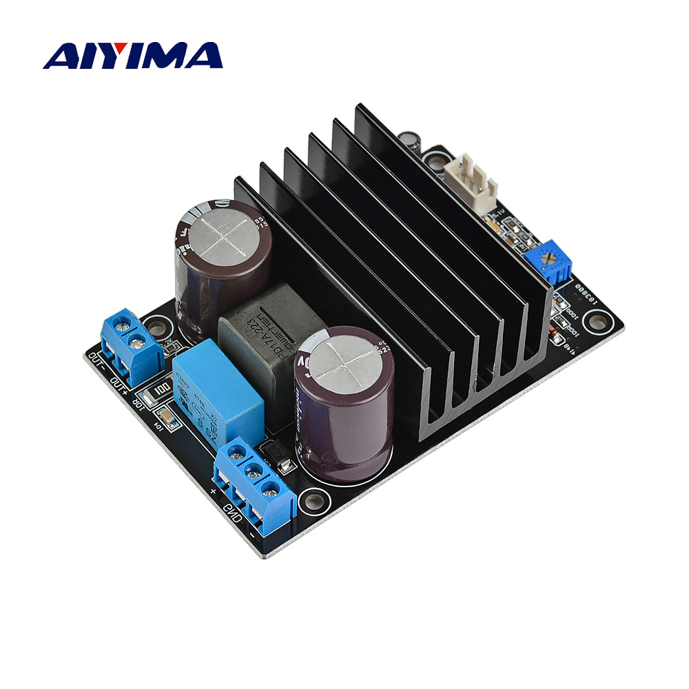 Aiyima IRS2092 mono amplifier board 200W Single Channel Class D Amplifier Board