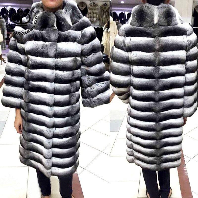 Style Rabattu 5 Véritable Rex 2 Chinchilla De style 090 6 Femmes Manteau 1 4 Col D'hiver Manteaux style style Luxe Naturelle Veste Avec Fourrure Réel style 7 Lapin style 3 Rb style pw0qUxO7