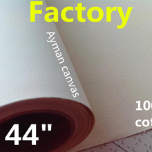 44in большой размер цифровая печать водонепроницаемая ткань искусство холст, водонепроницаемые холсты из чистого хлопка