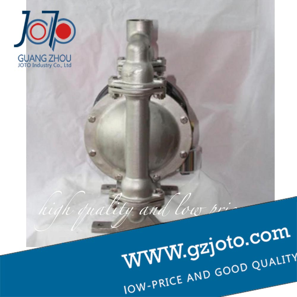 304 stainless steel Natural color stainless steel diaphragm pump with F46 diaphragm - 2