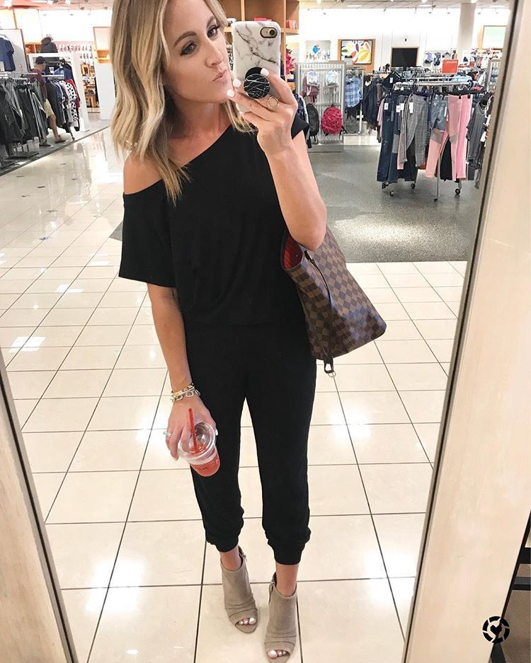 Solid Casual Sexy Off Shoulder Short Sleeve Women Suit 2019 New Arrival Women Summer Fashion Slim Elegant Long Rompers Female 21