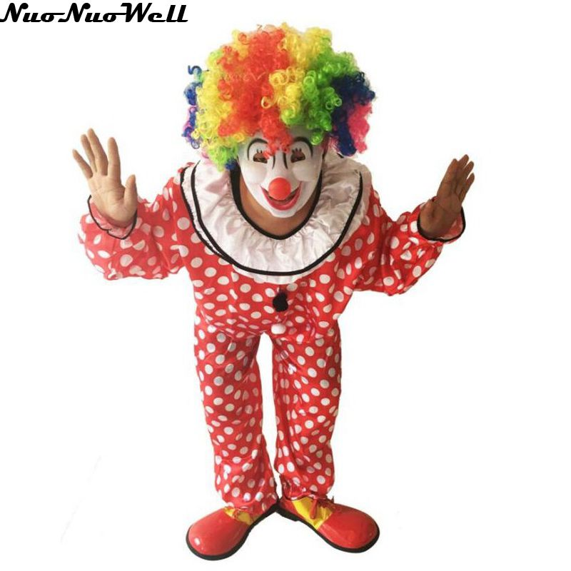 New Style Carnival Masquerade Cosplay Party Hallowen Carnival Party Adult Clown Costume Holiday Variety Funny Clown Costume