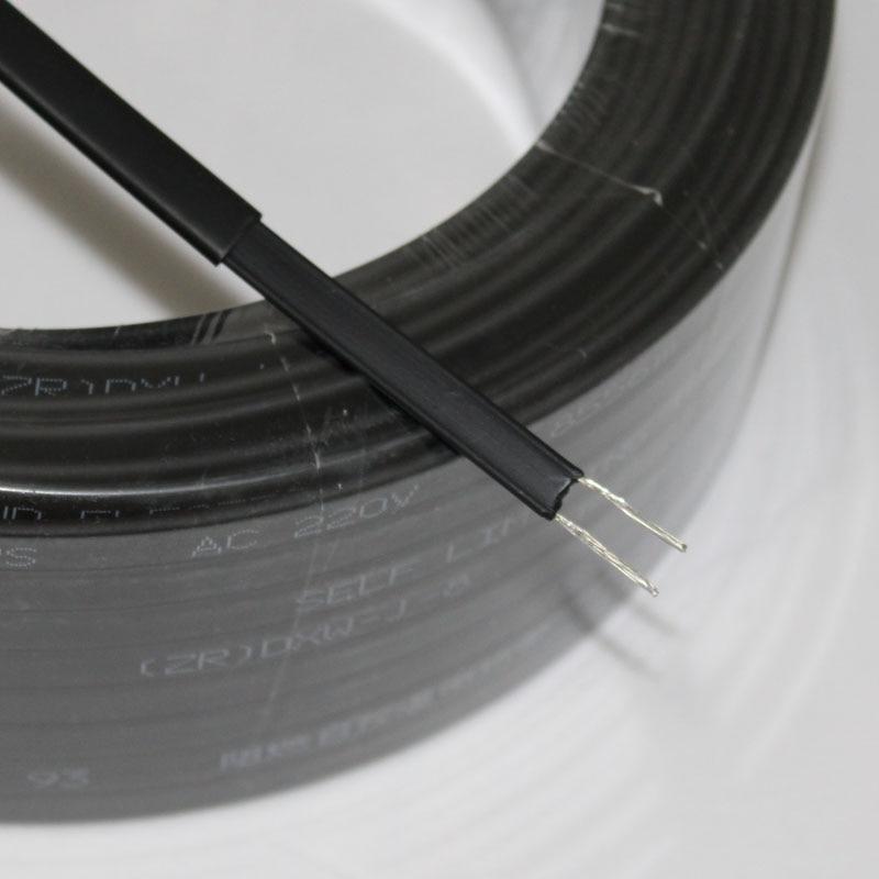 Selbst Regulierung 10 M 220 V Typ Heizung Band Wasser Rohr Schutz Dach Enteisung Heizung Kabel
