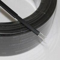 10 м 220 В Тип нагревательная лента саморегулирующийся водопровод защита крыши деобледенение нагревательный кабель
