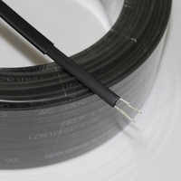 10 м 220 В Тип нагревательная лента саморегулирующийся водопровод защита крыши deicing нагревательный кабель