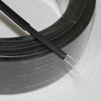 10 m 220 V type ruban chauffant autorégulateur tuyau d'eau protection toit dégivrage câble chauffant