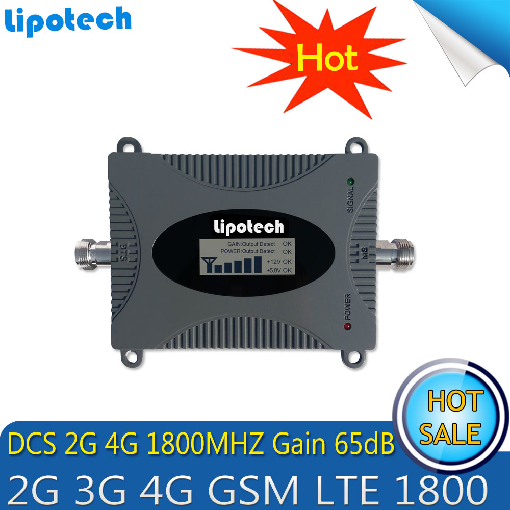 Lintratek 4G LTE DCS 1800mhz Signal Gain 65dB Repeater Mobile Amplifier (Band 3)DCS LTE 1800mhz Cell Phone Signal BoosterLintratek 4G LTE DCS 1800mhz Signal Gain 65dB Repeater Mobile Amplifier (Band 3)DCS LTE 1800mhz Cell Phone Signal Booster