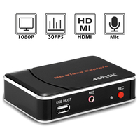 Ezcap280HB HD Video game capture card, convert HDMI to HDMI+ Mic/ USB Flash disk for game equipment, HDCP code, easy to operate