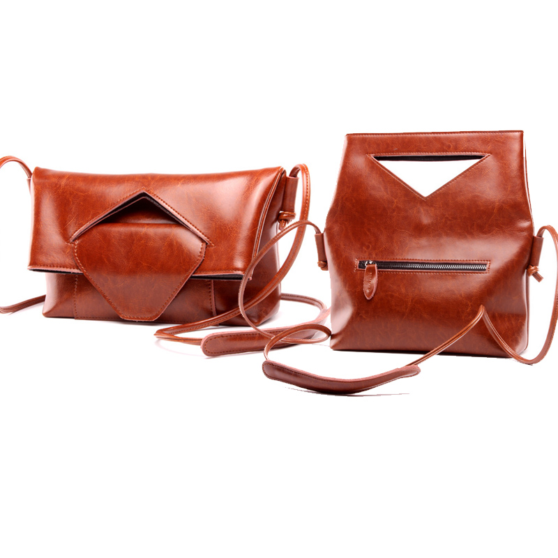 ФОТО New Fashion Individuality Folding Women Handbag Messenger Bags Large Totes Satchels Cowhide Genuine Leather Vintage Ladies Bag