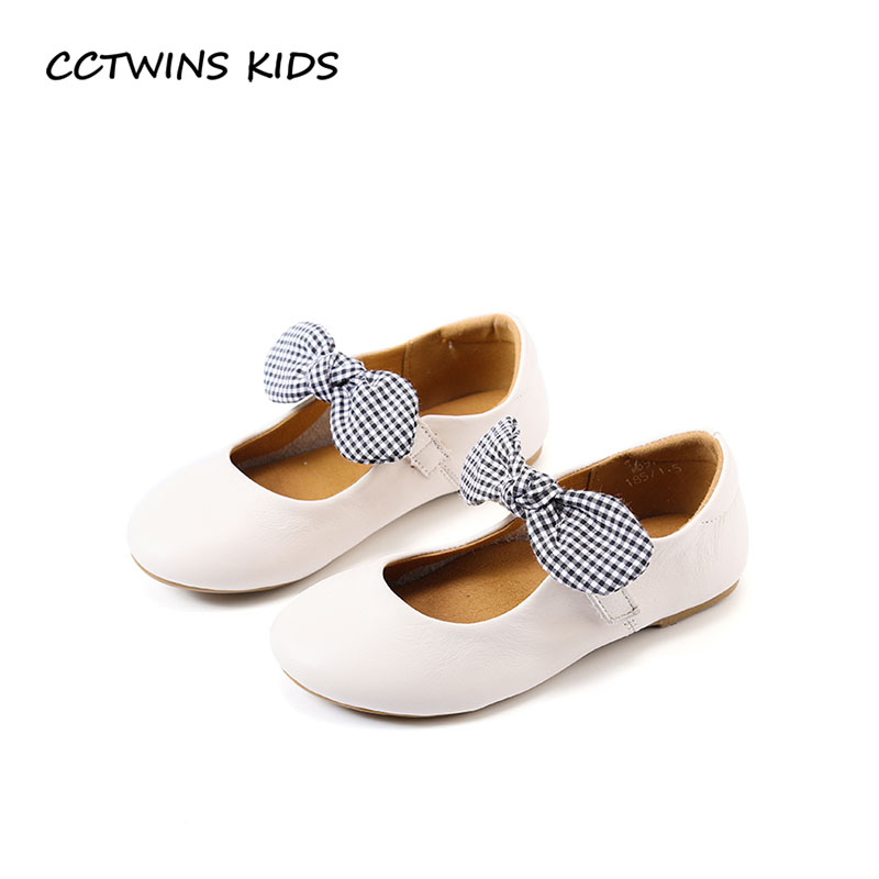 CCTWINS KIDS 2018 Spring Children Butterfly Party Shoe Toddler Fashion Mary Jane Baby Girl Genuine Leather Flat Beige GM1939 cctwins kids 2018 spring fashion pink princess butterfly shoe children genuine leather mary jane baby girl party flat gm1942