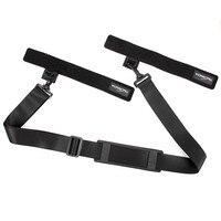 Hot Multi Function Lure Rod Suspenders Shoulder Strap Fishing Rod Multifunctional Suspenders Belt Fishing Tackle Shoulder