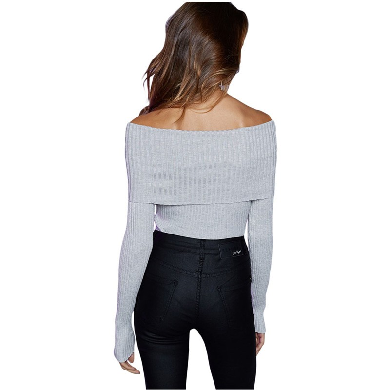 Gray-Off-Shoulder-Ribbed-Knit-Long-Sleeve-Bodysuit-LC32083-11-19311-52910