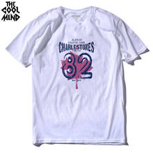 THE COOLMIND cotton casual canada 82 men t shirts top quality fashion short sleeve men tshirt men's tee shirts tops men T-shirt(China)