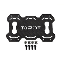 лучшая цена Tarot Carbon Fiber 6-axle Rack Battery Holder Mounting Set TL9608 For T810 T960 FPV Hexacopter Frame kit