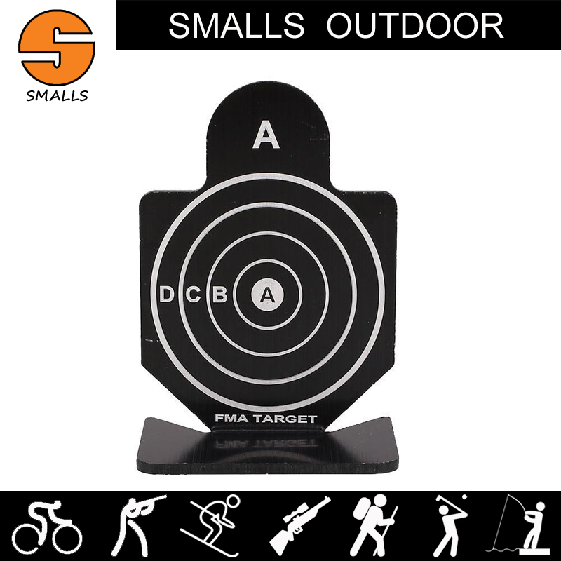 AR 15 6pcs airsoft tactical gun accessories training target aluminum military shooting targets for hunting black HT12-002