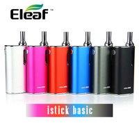 100 Original Eleaf IStick Basic E Cigarette Kit 2300mah In Built Battery Mod 2ml E Liquid