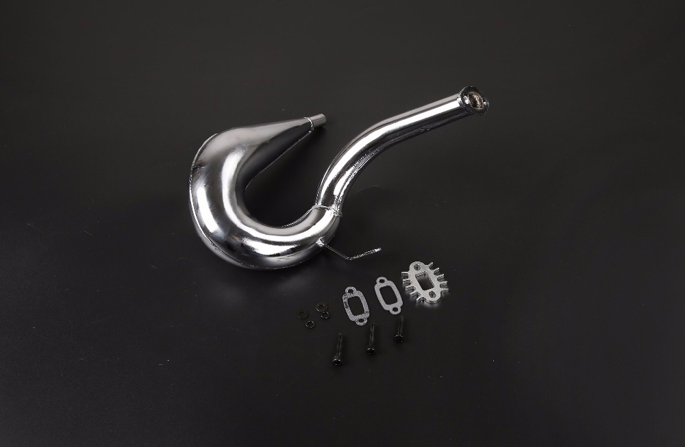 Dominator upgraded exhausted pipe for 1 5 scale hpi rovan baja 5b